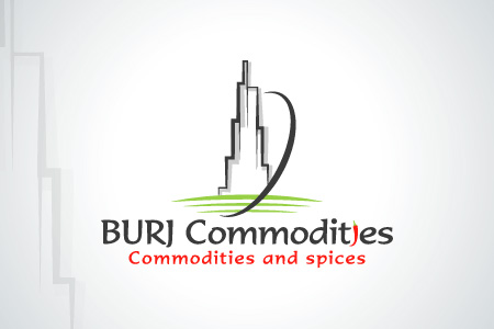 Burj Commodities Logo Design