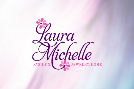 Laura Michelle Logo Design