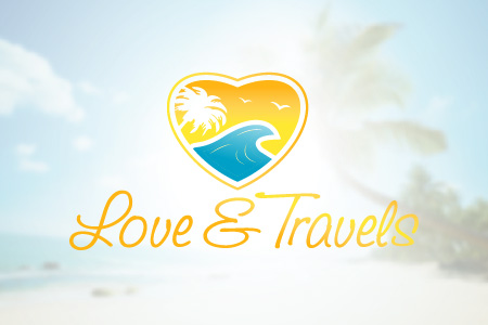 Love & Travels Logo Design
