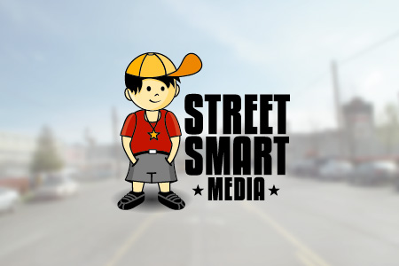 Street Smart Media Logo Design