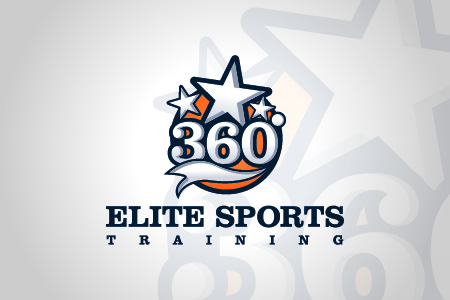 360 Elite Sports Logo Design