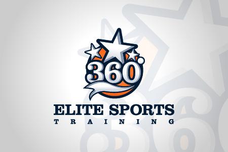360 Elite Sports Logo Design