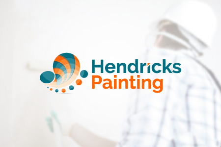 Hendricks Painting Logo Design