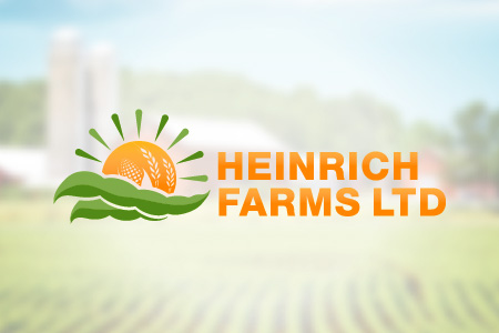 Heinrich Farms Logo Design