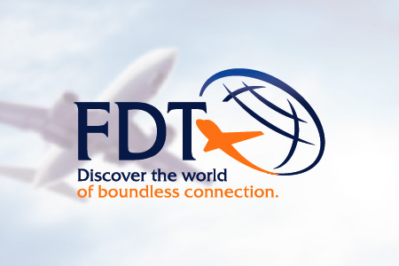 FDT Aviation Logo Design