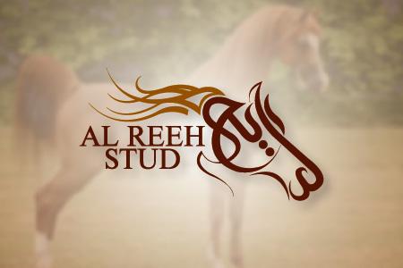 Al Reeh Stud Logo Design