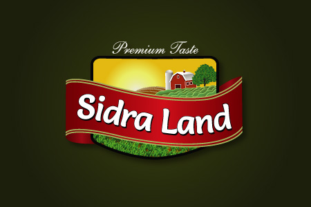 Sidra Land Logo Design