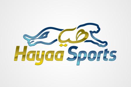 Hayaa Sports Logo Design