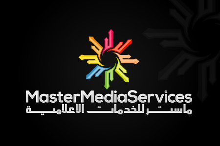 Master Media Services Logo Design