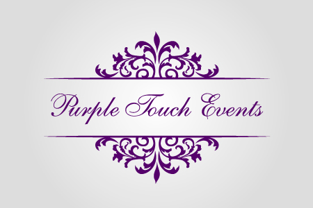 Purple Touch Events Logo Design