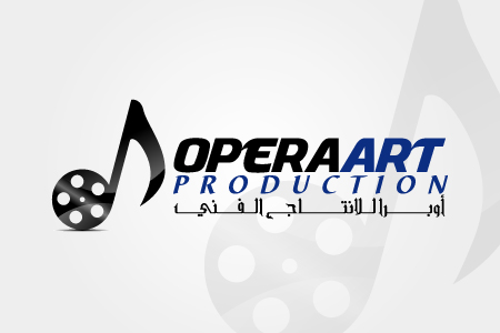 Opera Art Production Logo Design
