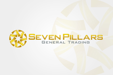 Seven Pillars Logo Design