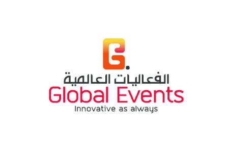 Global Events Logo Design