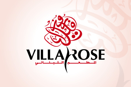 Villa Rose - Logo Design