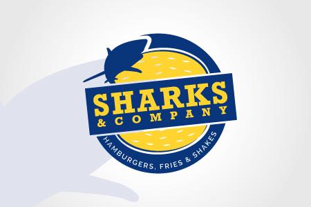 Sharks and Company - Logo Design