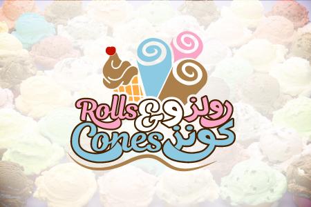 Rolls & Cones - Logo Design