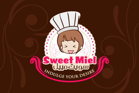 Sweet Miel - Logo Design