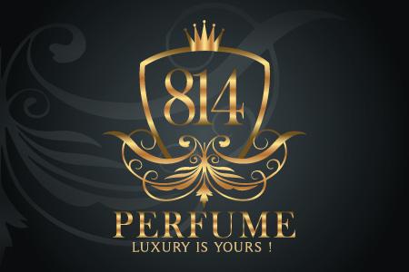 814 Perfume - Logo Design