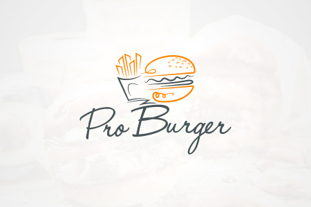 Pro Burger - Logo Design