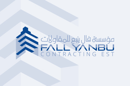 Fall Yanbu Contracting EST - Logo Design