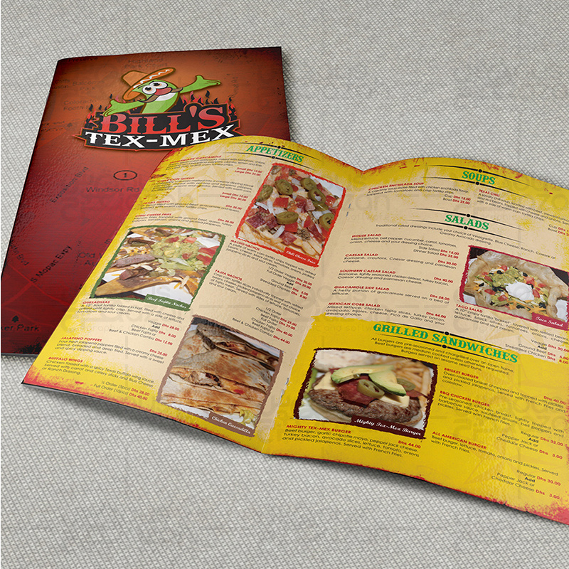 menu design portfolio best online menu designer in dubai uae