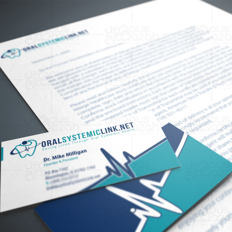 Oral Systemiclink.net - Stationery Design