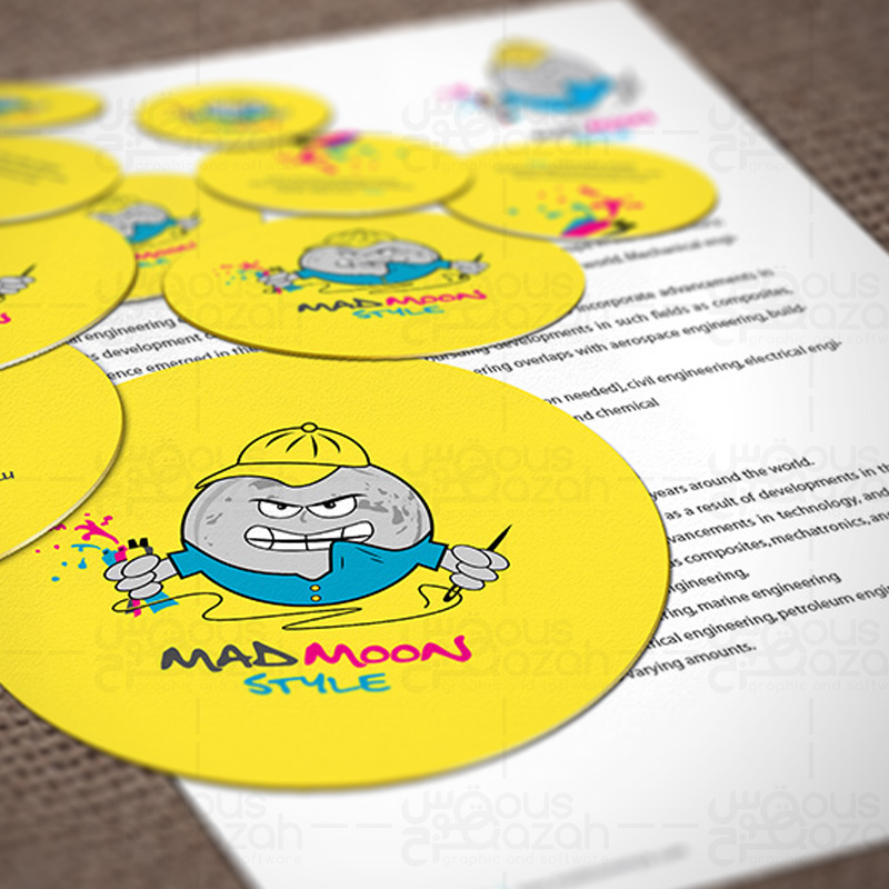 Mad Moon Style - Stationery Design