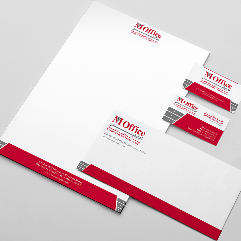 M Office - Stationery Design