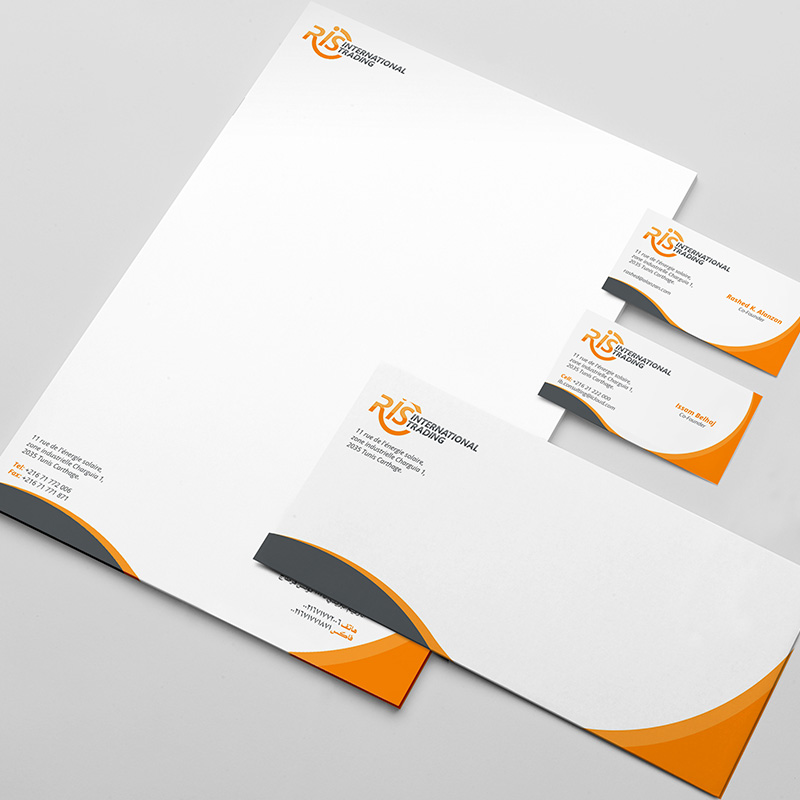 RIS - Stationery Design
