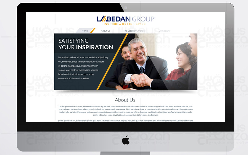 Labedan Group - Website Design