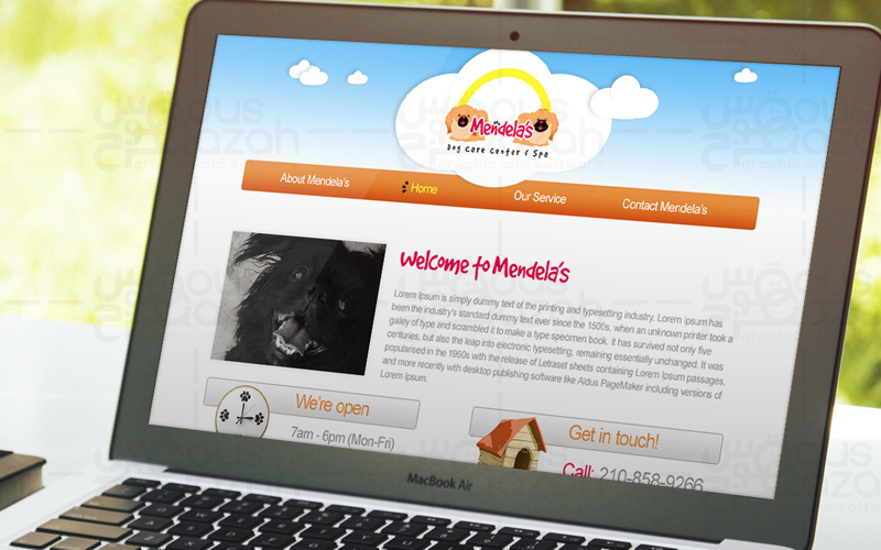 Mendela's - Website Design