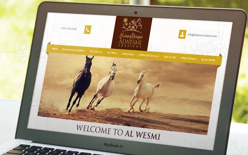 Alwesmi - Website Design