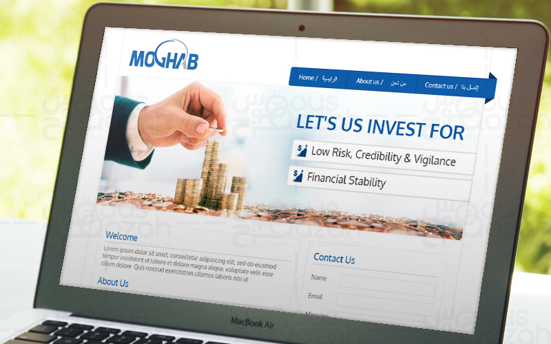 Moghab - Website Design
