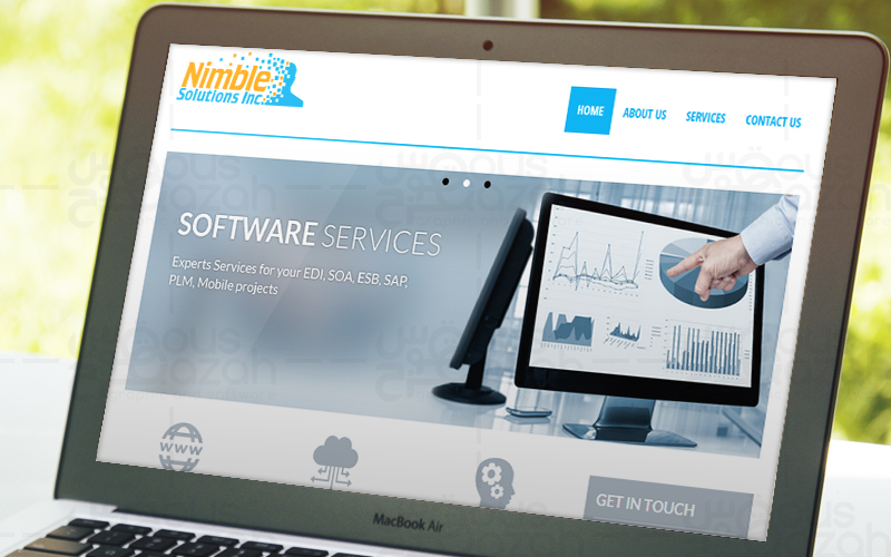 Nimble Solutions - Website Design