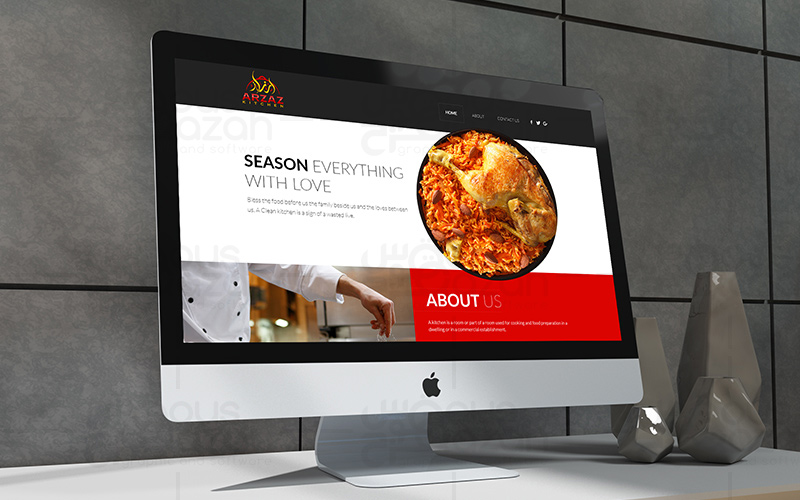 Arzaz - Website Design