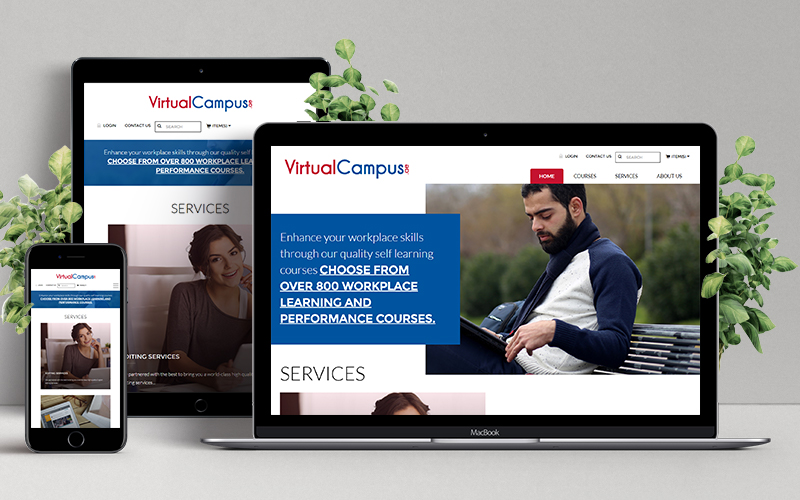 Virtual Campus - Website Design