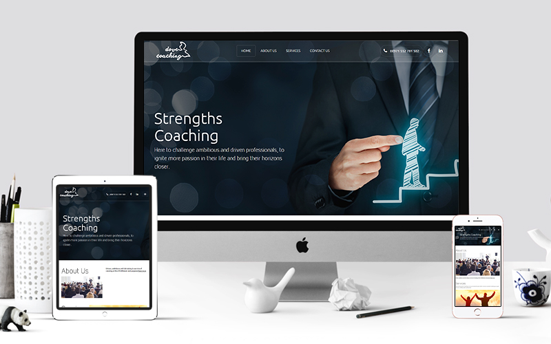 Dove Coaching - Website Design