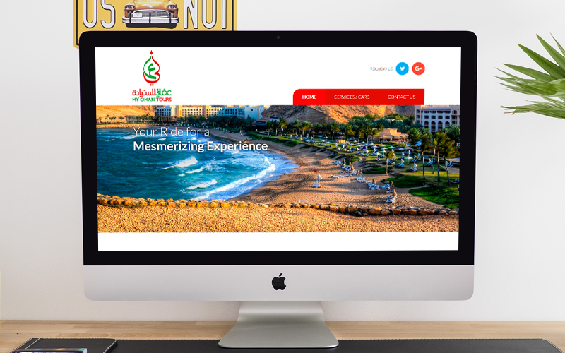 My Oman Tours - Website Design