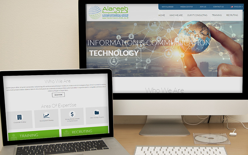 Al Areeb - Website Design