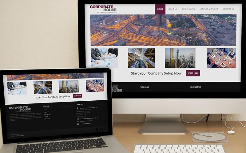 Corporate House - Website Design
