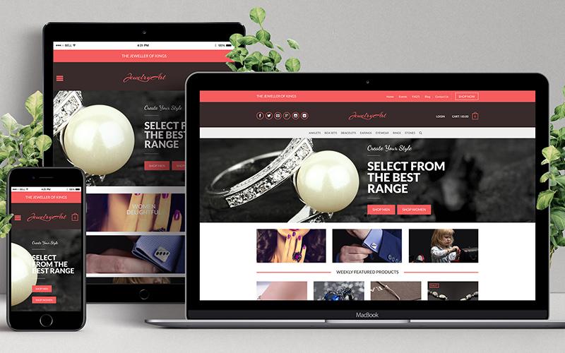 Jewel Art - Website Design