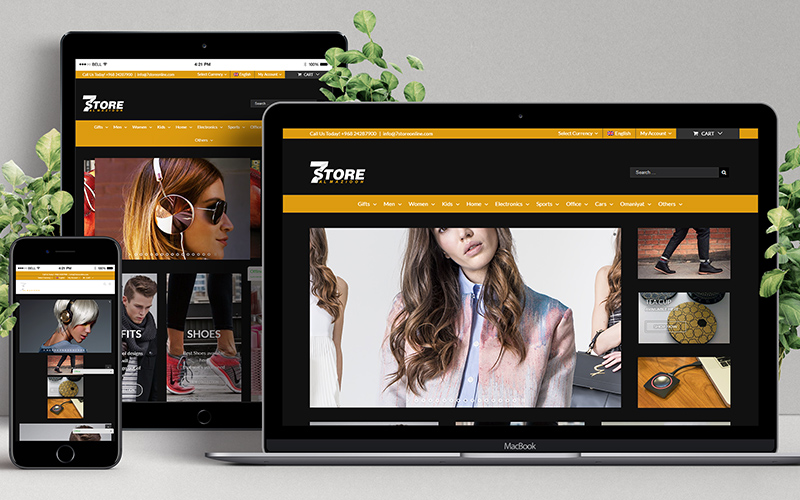 Seven Store - Website Design