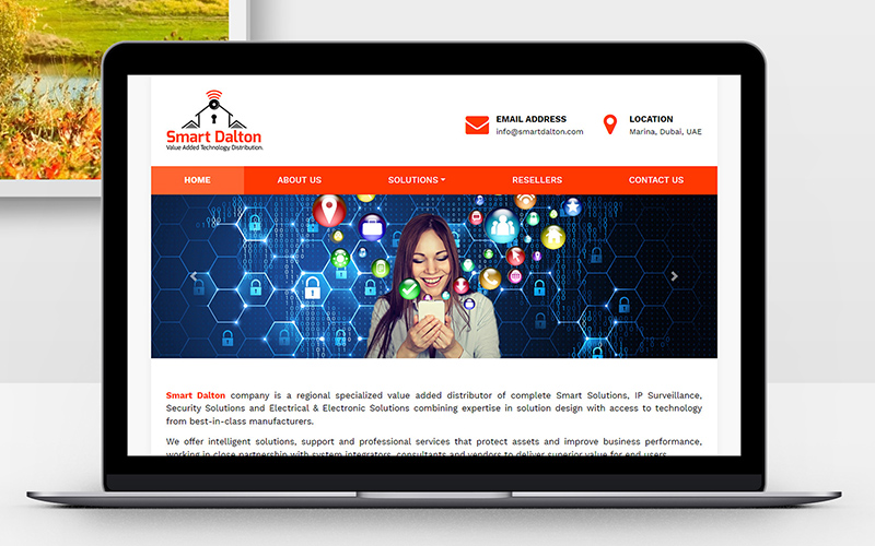 Smart Dalton - Website Design