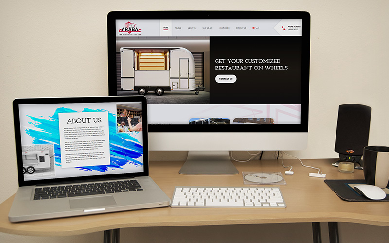 Araba - Website Design
